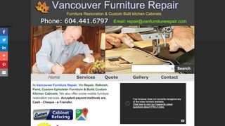 Vancouver Furniture Repair