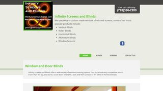 Infinity Screens &  Blinds